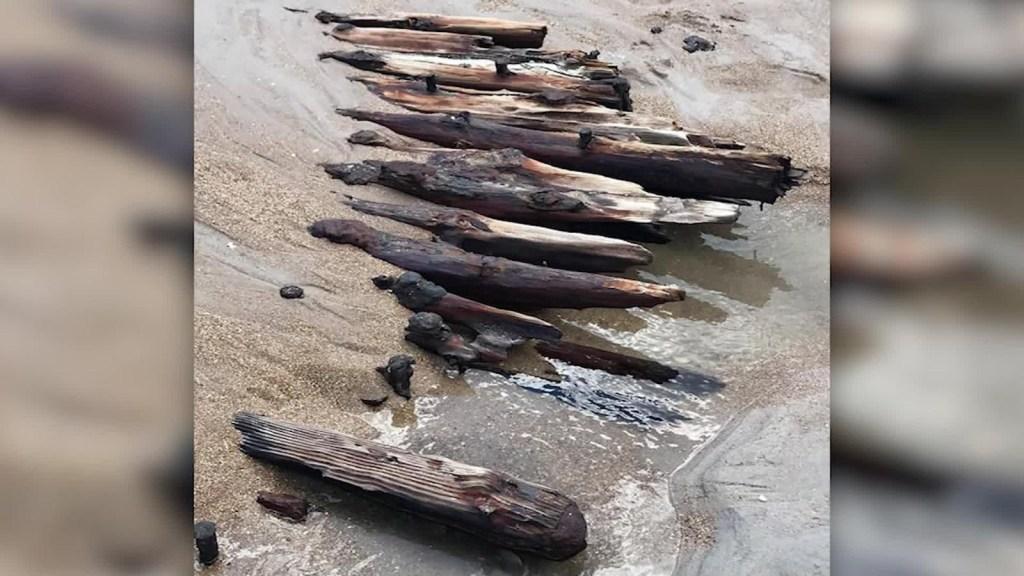 Descubren restos de centenaria embarcación