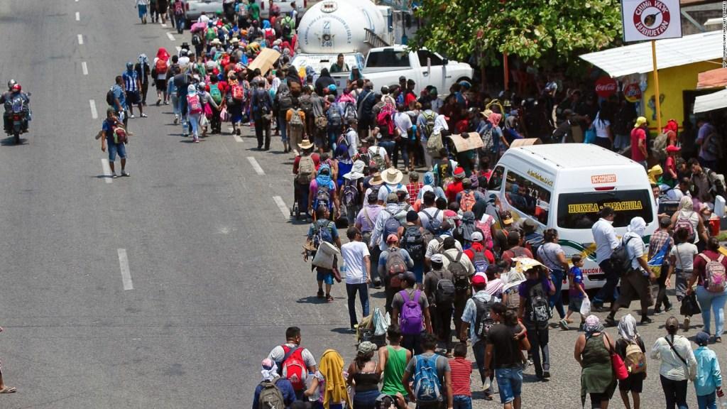 Aumenta flujo de migrantes desde México hacia EE.UU.