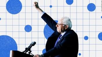Bernie Sanders de primero en demócratas