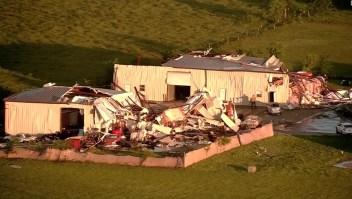 Fuertes tormentas en Texas y Luisiana dejan cinco muertos