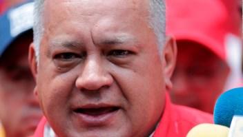 Diosdado Cabello asegura que hay tranquilidad en Venezuela