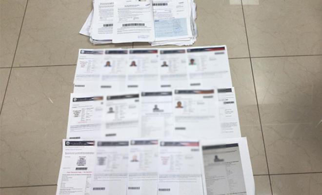 Visas, Fraude, Colombia