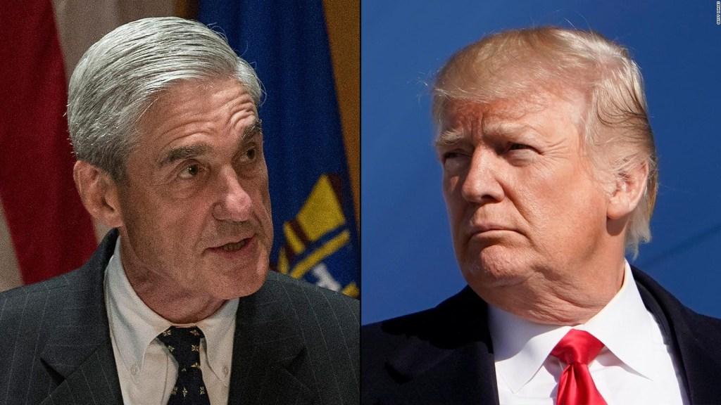 Trump invoca privilegio ejecutivo sobre informe de Mueller