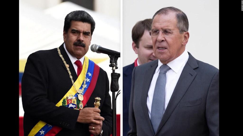 ¿De qué hablaron Lavrov y Arreaza?