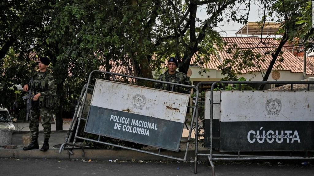 Militares colombianos, en alerta por situación política en Venezuela
