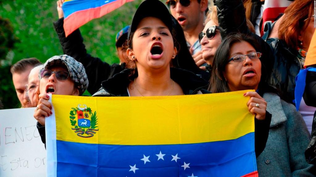 Los puntos de las marchas de Guaidó y Maduro