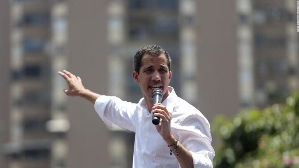 Guaidó hace un llamado a una Operación Libertad Sindical
