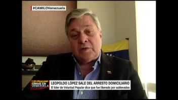 """López Gil: """"Los guardias que lo vigilaban se cuadraron ante él"""""""