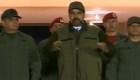 Nicolás Maduro envía mensaje rodeado de militares