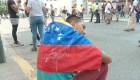 """Manifestantes: """"Nosotros nos estamos muriendo por nuestro país"""""""