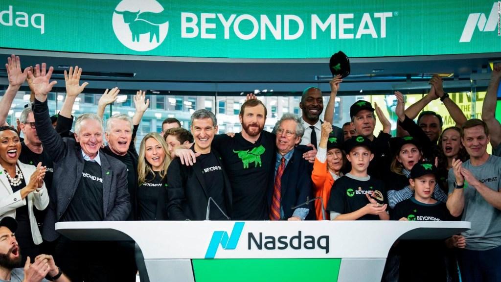 Beyond Meat le gana a Uber en su debut