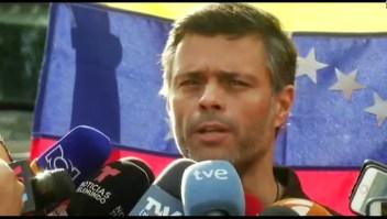 Leopoldo López: Estoy en condición de huésped de España