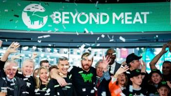 Beyond Meat: acción crece 163% en su inicio en bolsa