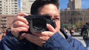 Renzo Grande, el fotógrafo de la calle