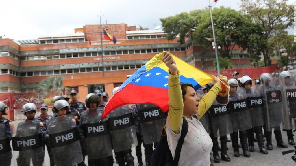 Concentraciones en Venezuela tras convocatoria de Guaidó