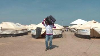 Venezolanos refugiados en Colombia buscan una mejor vida