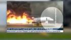 Investigan qué causó el accidente de un avión ruso
