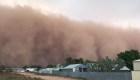 Tormenta de polvo oscurece Australia