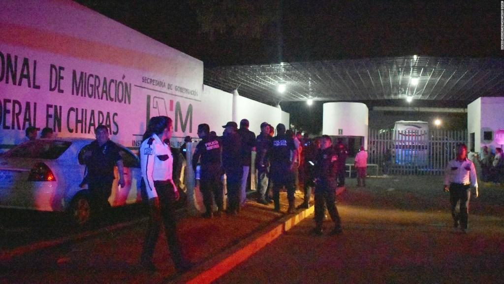 Otro escape masivo de migrantes en el sur del país