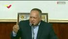 Venezuela: Diosdado Cabello tilda de inepta a la oposición