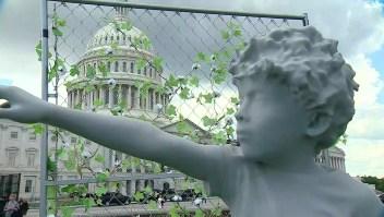 Nueva instalación en los jardines del Capitolio