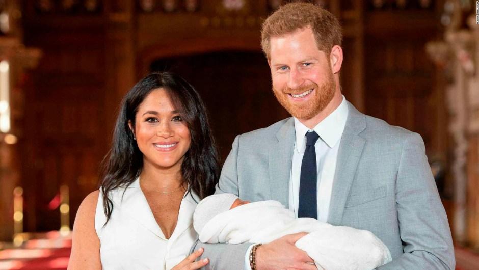Conoce al bebé real de Meghan y Enrique