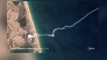 Corea del Norte otra vez dispara misiles