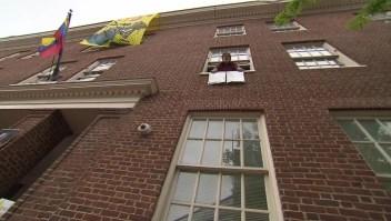 Embajada de Venezuela en Washington se queda a oscuras