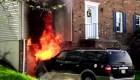 Cuando el cartero salva un hogar de las llamas