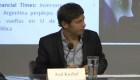 Kicillof sobre el FMI: nadie quiere un cese de pagos