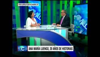 Ana María Luengo: Llegar a CNN fue un sueño cumplido