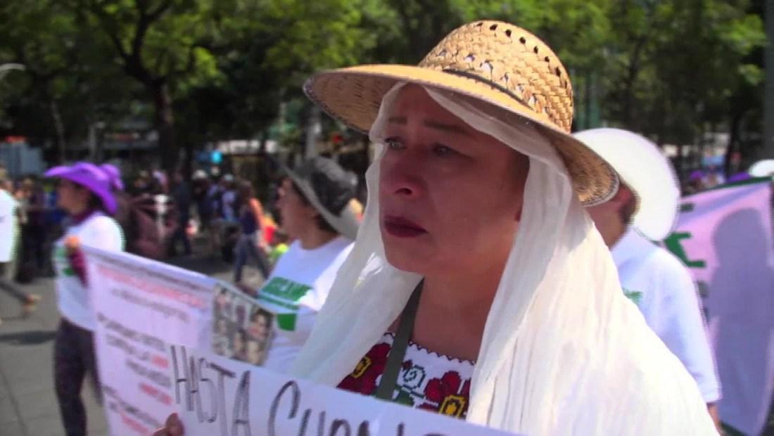 Un año más marchan las madres de los desaparecidos