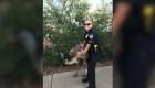 La policía salió al rescate de un Emu