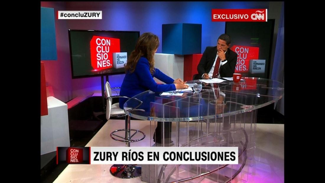 """Zury Ríos: """"Vamos a apelar"""""""