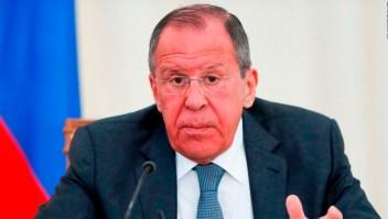 Lavrov dice que Venezuela debe decidir su futuro