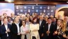 Cristina F. de Kirchner sorprende con su presencia en la reunión del Partido Justicialista