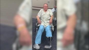 Granjero sacrifica su pierna para salvar la vida