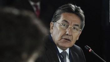 Renuncia el fiscal general de Colombia