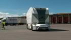 Camión eléctrico y sin conductor recorre las calles de Suecia