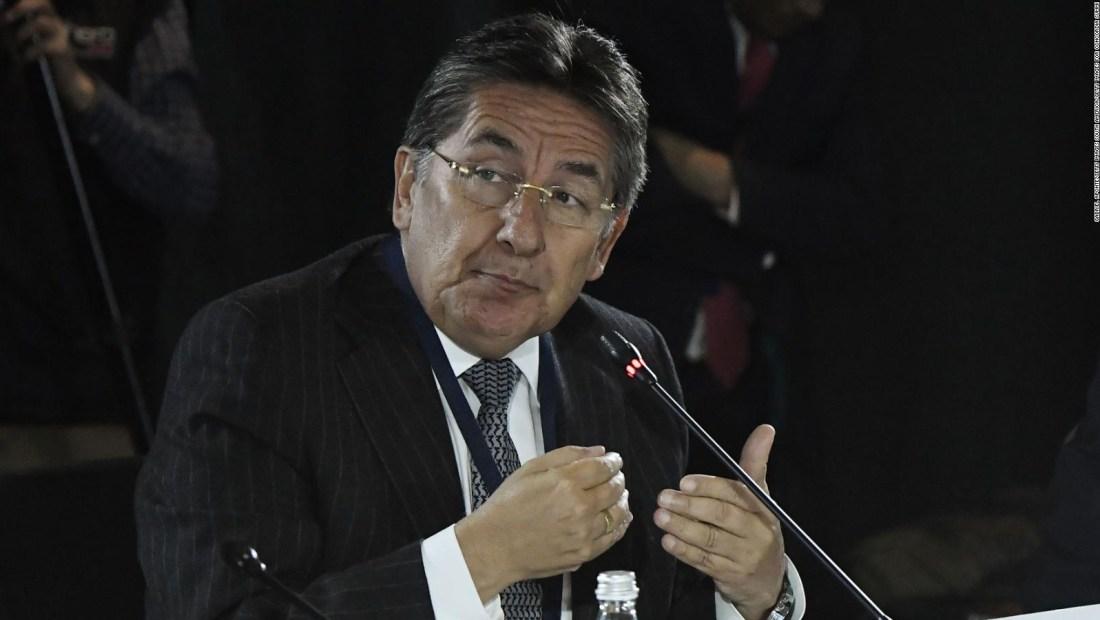 Renuncia Néstor Humberto Martínez a la fiscalía de Colombia