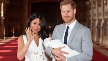 Archie nace en hospital privado de Londres