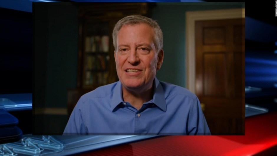Bill de Blasio anuncia su precandidatura presidencial para 2020