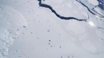 Peligroso adelgazamiento de la capa de hielo en la Antártida