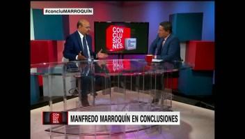Marroquín: Hay que declarar una crisis humanitaria