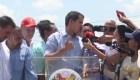 Guaidó vuelve a las calles en Guatire