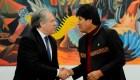 Apoyo de OEA a Morales indigna expresidente Quiroga