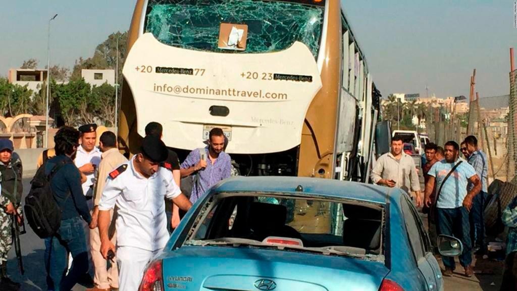 Ataque con bomba en Egipto deja varios heridos