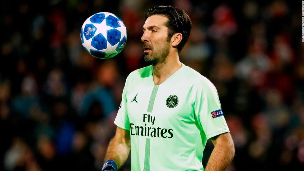 Buffon: la máxima seguridad en la portería del PSG