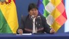 Morales: Claro que vamos a respetar las elecciones