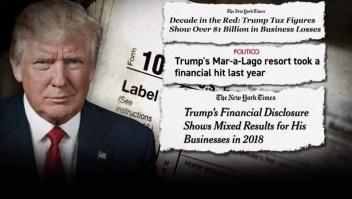 ¿Investigará el Congreso el pasado financiero de Trump?